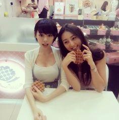 林明禎的姐姐林詩枝(右)也是大正妹,還是當選過馬來西亞小姐的美女藝人。翻攝minchen333的IG