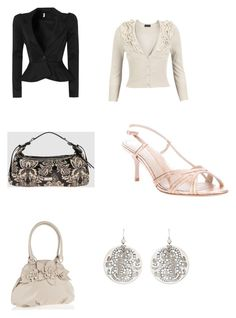 """""""TR"""" by angstgirl ❤ liked on Polyvore featuring TUA by Braccialini, Vero Moda, Jean-Michel Cazabat and Gas Bijoux"""