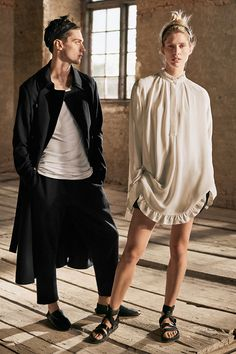 Inspired by the passion and strength of ballet, this season H&M Studio unveils its first ever see-now, buy-now collections for men and women. Watch the Paris fashion show live at hm.com on the 1st of March, and shop the looks straight from the runway. | H&M Studio