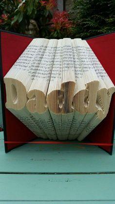 Daddy Book Folding Pattern, 354folds plus full tutorial by Cornerhouse115 on Etsy
