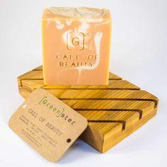 Call of Beauty ⋆ Soap – [Green]ster Tea Tree Soap, Beauty Soap, Theobroma Cacao, Olive Fruit, Avocado Oil, Handmade Soaps, Artisanal, Shower Gel