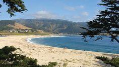 Carmel Beach in Carmel, CA