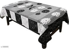 Table Cover Table Cover  *Material * Polyster  *Size ( L X W ) * 40 In X 60 In  *Thickness * 15 mm  *Description * It Has 1 Piece Of 4 Seater Table Cover  *Sizes Available* Free Size *   Catalog Rating: ★4.2 (1133)  Catalog Name: Elegant Table Covers Home & Kitchen Utilities Vol 4 CatalogID_166872 C129-SC1637 Code: 691-1306553-