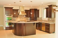 Contemporary Kitchen with Stainless Steel Appliances!