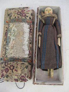 Antique Grodnertal Doll.