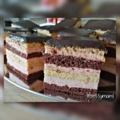 Hungarian Recipes, Winter Food, Sweet Life, Coffee Cake, Vanilla Cake, Bakery, Cheesecake, Food And Drink, Sweets