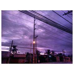 紫色 #イマソラ#夜明け#空#雲#フィリピン #purple#sky#clouds#dawn#morning#philippines