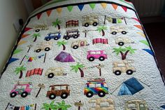 Camping quilt. I know I said I wouldn't do another like this but this is cool