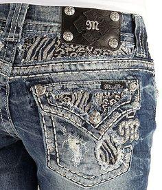MISS ME JEANS SALE Zebra Blowout Flap Pocket Cropped Capri Crop Stretch Jean 30 #MissMe #CapriCropped