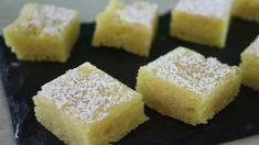 Blondies al limone #ricetta Macarons, Cornbread, Cheesecake, Cannoli, Biscotti, Ethnic Recipes, Youtube, Desserts, Food