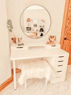 Cute Bedroom Decor, Room Design Bedroom, Room Ideas Bedroom, Ikea Room Ideas, Bedroom Inspo, Teen Bedroom Decorations, Room Decor Boho, Girl Room Decor, Boho Teen Bedroom