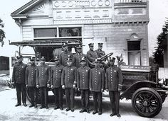 Hose Company No. 4 | Fire fighters, Los Angeles, CA 1921