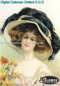 1000 Vintage Risque Portraits Prints Victorian Edwardian - Group 42