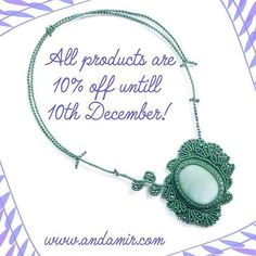 Find a nice bohemian jewellery and get 10% discount. Visit the shop now! www.andamir.com #discount #bohemian #boho #bohochic #gypsy #jewellery #jewelry #giftforher #christmasgift