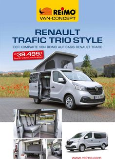 Campingbus Reimo TrioStyle auf Basis Renault Trafic