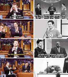 Jimmy and Justin haha