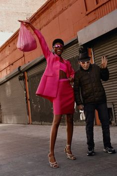 954c9c6d36edd Stylist Theresa Pichler Latest Editorial for InStyle Germany with Imade  Ogbewi