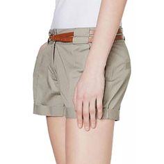 Pantaloni Scurti Dama VERO MODA Boline Moon Rock Moon Rock, Khaki Pants, Fashion, Elegant, Moda, Khakis, Fashion Styles, Fashion Illustrations, Trousers