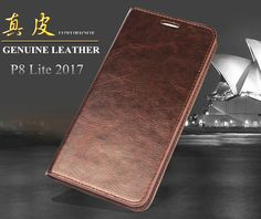 Luxury Wallet Stand Card Solt Flip Phone Cover for P8 Lite 2017 Retro Top Cowhide Genuine Leather Case For Huawei P8 Lite 2017 -- AliExpress Affiliate's buyable pin. Find similar products on www.aliexpress.com by clicking the image