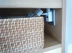 収納内コンセント⑤ 洗面台のドライヤーをすぐ使えるように | 快適な終の棲家を House Design, Architecture Design, House Plans, Home Design, Design Homes