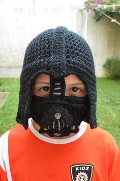 Darth Vader Crochet Hat for CHILDREN | Craftsy