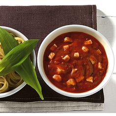Tomaten-Kräuter-Sauce mit Mozzarella Rezept | Küchengötter