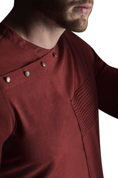Buy Pintuck detail kurta set by Suta & Co - Men at Aza Fashions