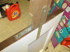 Taylor Made: old door headboard tutorial