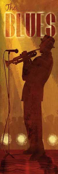 The Blues by Conrad Knutsen