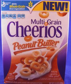 All cheerio cereal rocks, but peanut butter is a favorite.