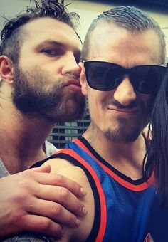 Jai Courtney & Joel Kinnaman.