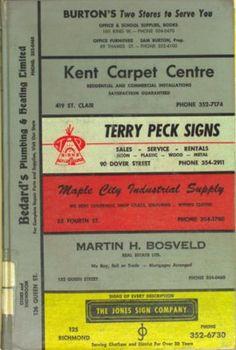 Vernon's city of Chatham (Ontario) directory 1969