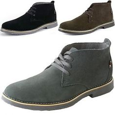Alpine Swiss Beck Mens Suede Chukka Desert Boots Lace Up Shoes Crepe Sole Oxford   eBay