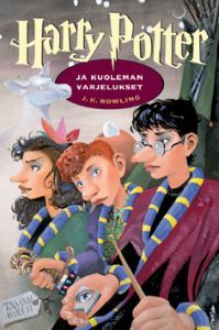 Harry Potter and the Deathly Hallows by J. K. Rowling, the Finnish cover by Mika Launis