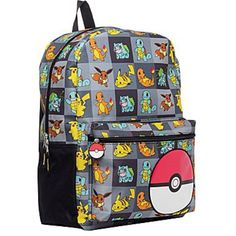Pokemon Large 17 All Over Print Front Pocket Backpack > Additional details at the pin image, click it  : Travel Backpack