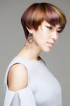 Hair trend collections •  Парикмахерские тренды •  Стрижки, прически, окрашивания волос •  Тренды в стрижках, прическах и окрашивании волос •  Trends in haircuts, hairstyles and hair color •  @prohairschool