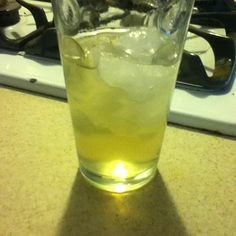 I made honey herb soda! I put the recipe on my food and recipe board if you want to use it too! It is so good and super easy you just make a syrup using honey water and herbs of your choice (I used rosemary and lavender) then you put a tablespoon or 2 in a glass of sparkling water :) I just have a jar of the syrup in the fridge  for my family to use to make their drinks whenever they want it is a delicious healthy substitute for soda! :)