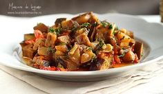 Mancare de legume cu sos de soia - detaliu final Veggie Dishes, Kung Pao Chicken, Japchae, Veggies, Cooking, Ethnic Recipes, Food, Kitchen, Vegetable Recipes