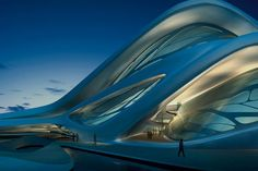 The new (2013) performing arts centre in Abu Dhabi. What creativity, money and the Guggenheim can do.