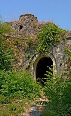 """Parga old castle, Epirus, Greece"" by bilwander on Flickr ~ Parga Old Castle, Epirus, Greece"
