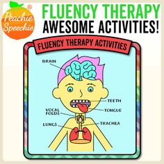 This is a collection of engaging, research-based, activities for fluency therapy! Low-prep, and lots of fun! Note: This product addresses speech fluency (stuttering) not reading fluency. This product is positive and supportive to students struggling with fluency disorders.