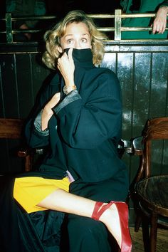 These Rare Photos of the Iconic Lauren Hutton Are Everything via @WhoWhatWear