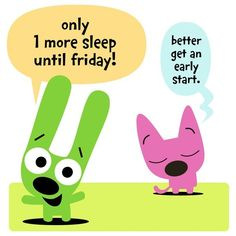 Reminds me of Hannah who also likes to count sleeps! :)