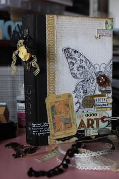IBP Altered Journals from Upcycled Books