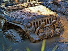 Mud. Nothing a little water can't fix... Love it! re-pinned by JeepDreamsUSA.com