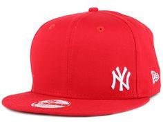 New Era - NY Yankees Flawless Scarlet/White 9Fifty Snapback