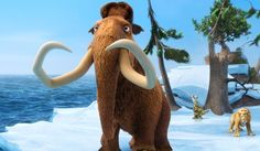 Mamut Manny z filmu Doba ľadová alebo trochu popkultúry na úvod nezaškodí (Foto…