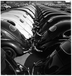 Peter Keetman - Volkswagen Factory, 1953.