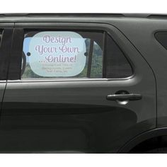 3c7d5cbe214 Design Your Own Car Side Window Sun Shade (Personalized)