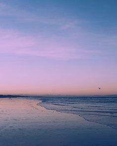 Already missing the ocean  #newzealand #northbrightonbeach #christchurchnz #oceanlover #pastelsky #sunset